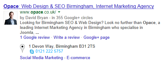most important place for keywords