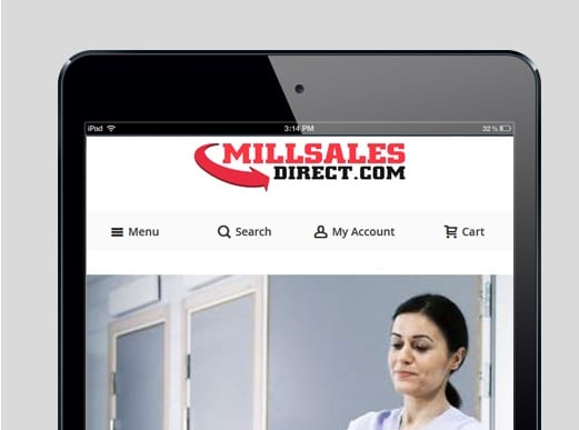 Millsales Mobile Design