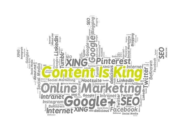 Online Marketing Google Facebook Content Is King