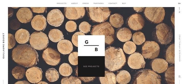 10 examples of creative web design guillaume bouvet