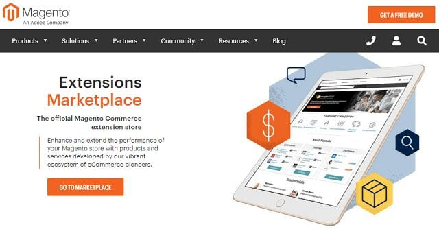 what is the magento marketplace
