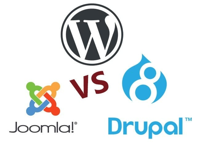 CMS Comparison - WordPress vs Drupal vs Joomla