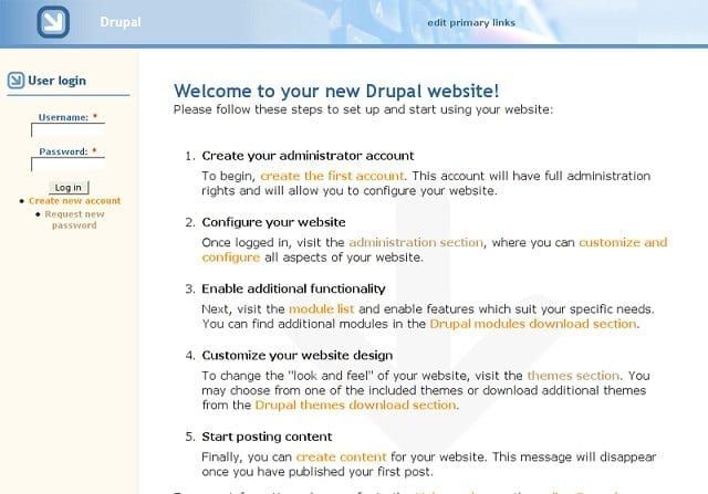 drupal features – WordPress vs Drupal vs Joomla