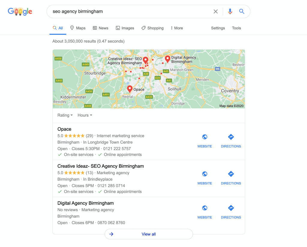 Local SEO and reviews